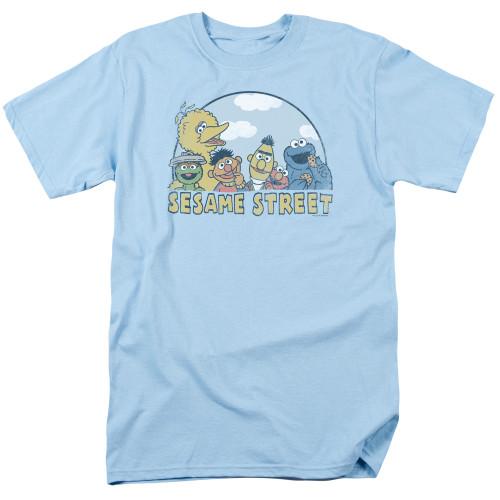 Image for Sesame Street T-Shirt - Sunny Day Group