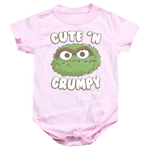 Image for Sesame Street Baby Creeper - Oscar Cute 'n Grumpy