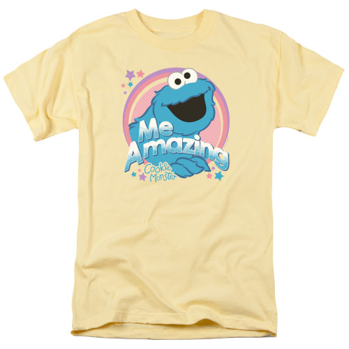 Image for Sesame Street T-Shirt - Me Amazing Cookie Monster