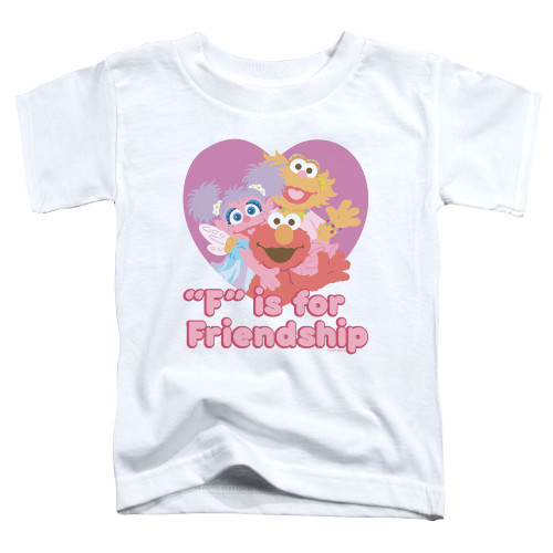 "Image for Sesame Street Toddler T-Shirt - ""F"" is for Friendship"