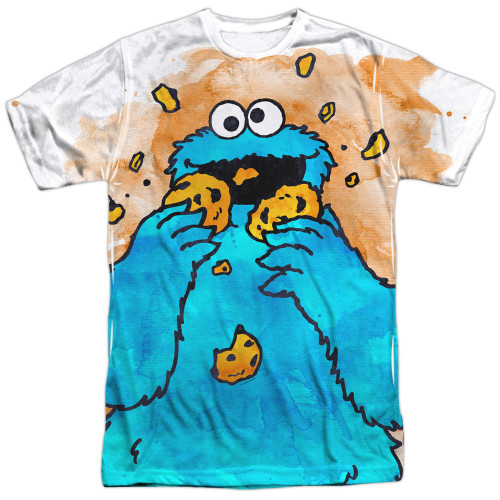 Image for Sesame Street T-Shirt - Cookie Crumbs
