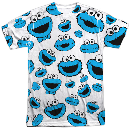 Image for Sesame Street T-Shirt - Cookie Monster Faces