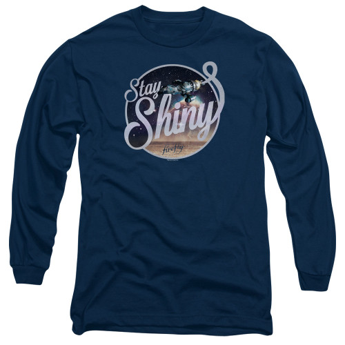 Image for Firefly Long Sleeve Shirt - Stay Shiny