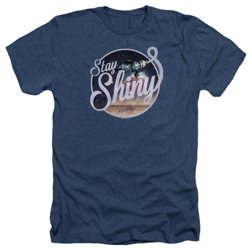 Image for Firefly Heather T-Shirt - Stay Shiny