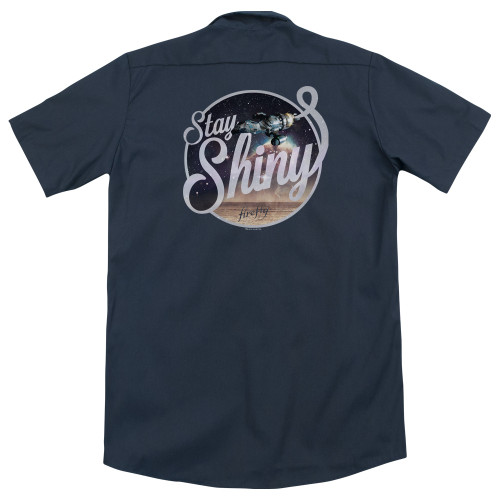 Image Closeup for Firefly Work Shirt - Stay Shiny