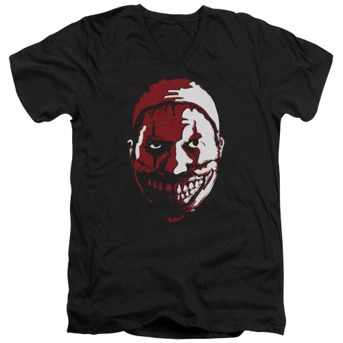 Image for American Horror Story V Neck T-Shirt - the Clown