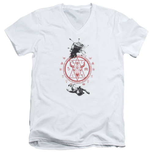 Image for American Horror Story V Neck T-Shirt - As Above So Below