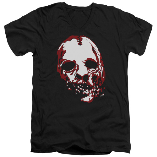 Image for American Horror Story V Neck T-Shirt - Bloody Face