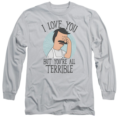 Image for Bob's Burgers Long Sleeve Shirt - Love You Terribly