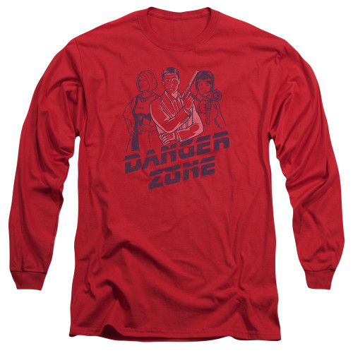 Image for Archer Long Sleeve Shirt - Danger Zone!