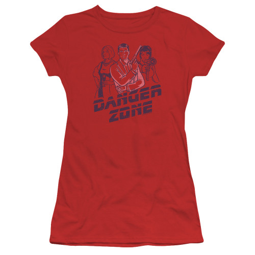 Image for Archer Girls T-Shirt - Danger Zone!