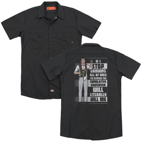 Image for Archer Dickies Work Shirt - Killer Hangover