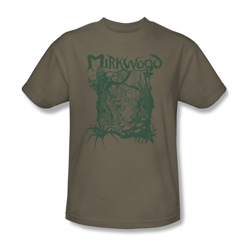 Image Closeup for The Hobbit Desolation of Smaug Mirkwood Line T-Shirt