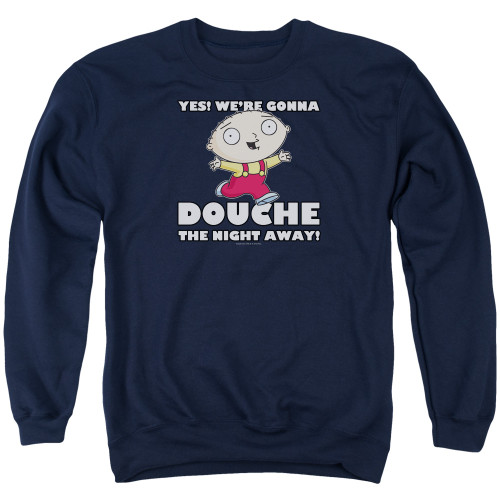 Image for Family Guy Crewneck - Douche the Night Away