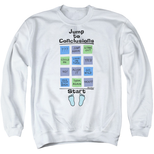 Image for Office Space Crewneck - Jump to Conclusions