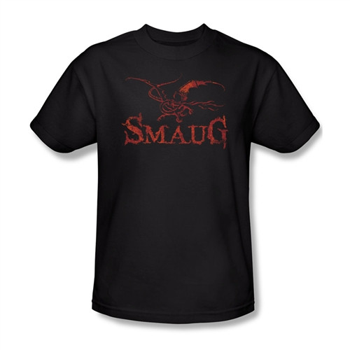 Image Closeup for The Hobbit Desolation of Smaug Dragon T-Shirt