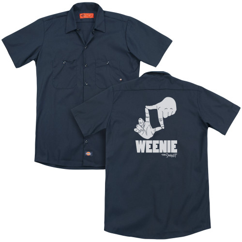 Image for The Sandlot Dickies Work Shirt - L7 Weenie