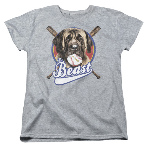 Image for The Sandlot Womans T-Shirt - the Beast