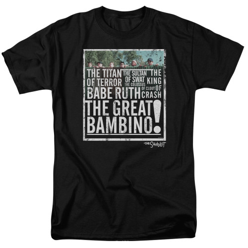Image for The Sandlot T-Shirt - the Great Bambino
