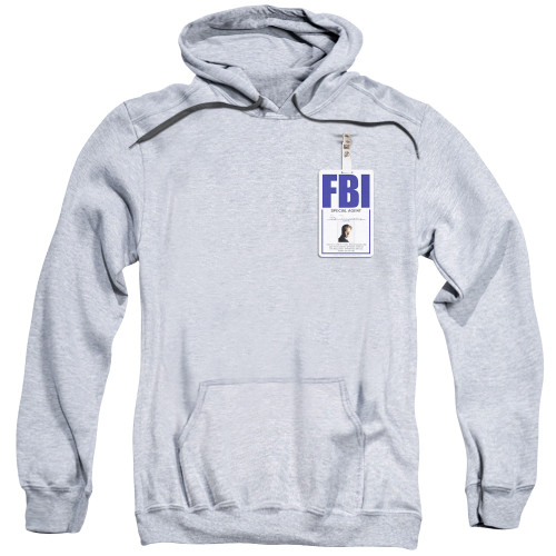 Image for X-Files Hoodie - Mulder Badge