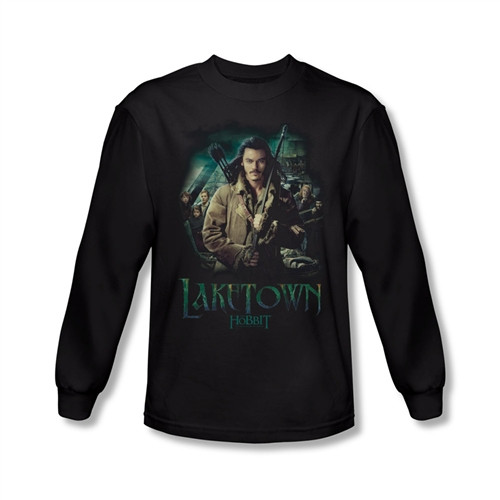 Image for The Hobbit Desolation of Smaug Protector long sleeve T-Shirt
