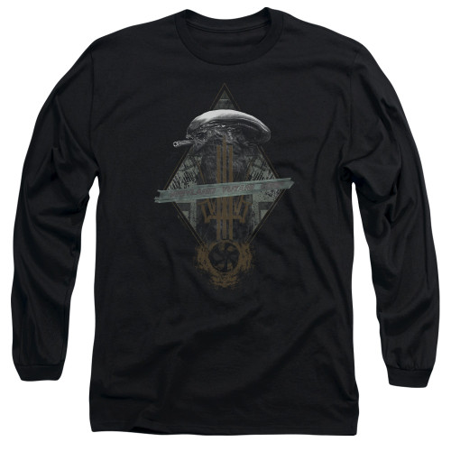 Image for Alien Long Sleeve Shirt - Prison Planet Collage