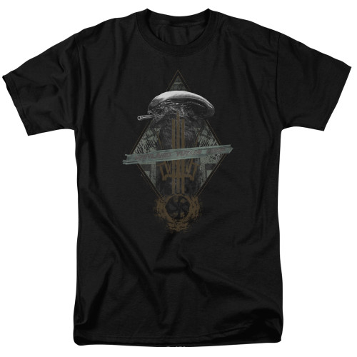 Image for Alien T-Shirt - Prison Planet Collage