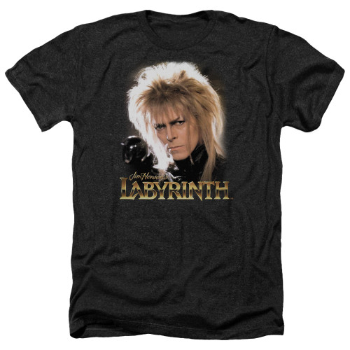 Image for Labyrinth Heather T-Shirt - Jareth