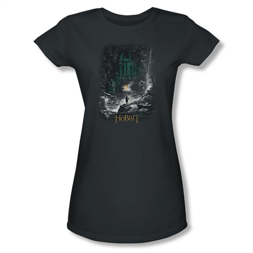 Image for The Hobbit Girls T-Shirt - Desolation of Smaug Second Thoughts