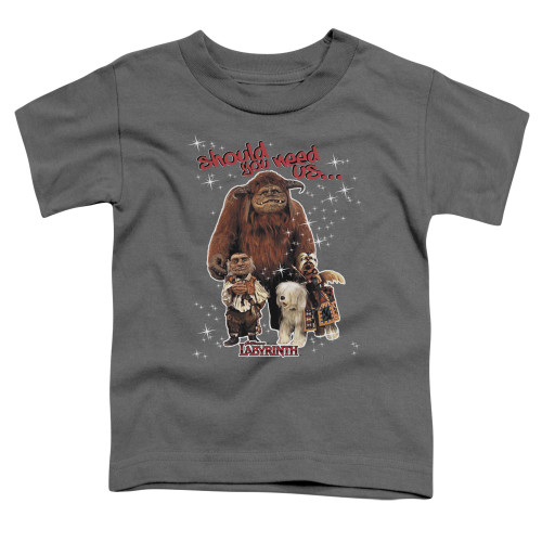 Image for Labyrinth Toddler T-Shirt - Should You Need Us