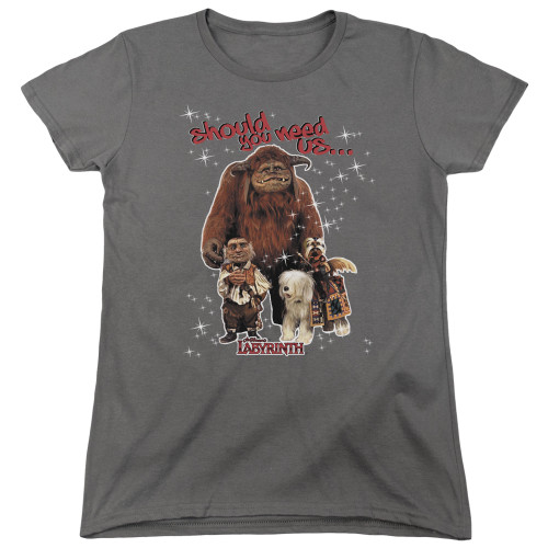 Image for Labyrinth Womans T-Shirt - Should You Need Us