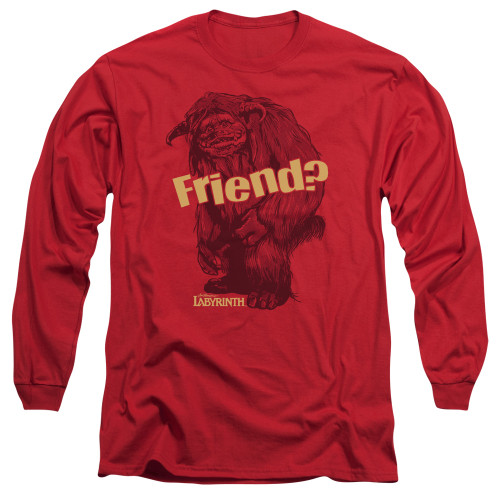 Image for Labyrinth Long Sleeve Shirt - Ludo Friend