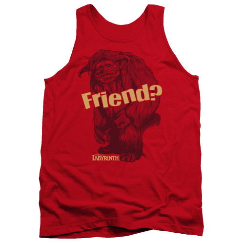 Image for Labyrinth Tank Top - Ludo Friend