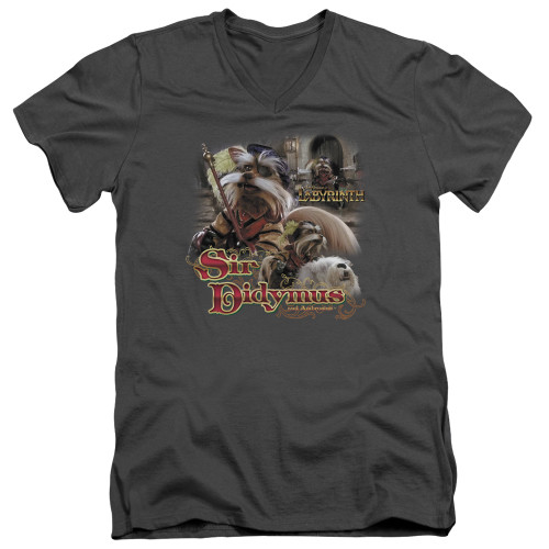 Image for Labyrinth V Neck T-Shirt - Sir Didymus
