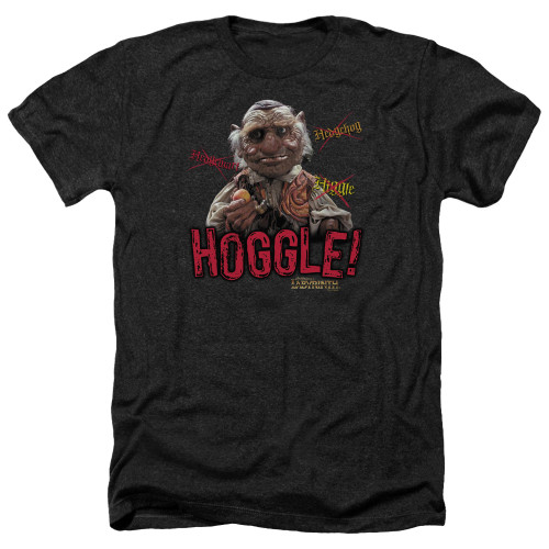 Image for Labyrinth Heather T-Shirt - Hoggle
