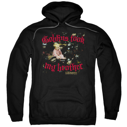 Image for Labyrinth Hoodie - Goblins Took My Brother