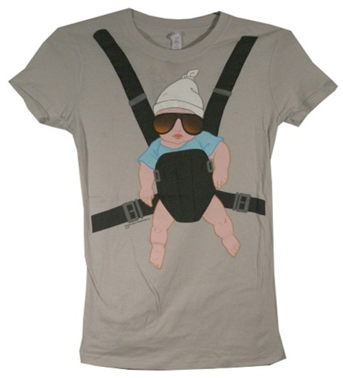 Image for The Hangover Baby Carlos Carrier Girls T-Shirt