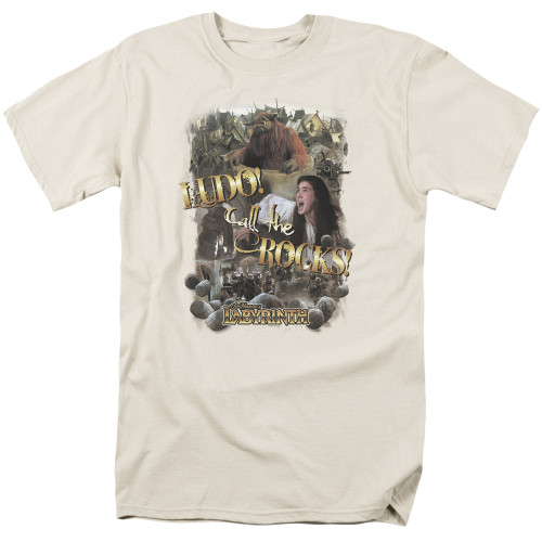 Image for Labyrinth T-Shirt - Call the Rocks