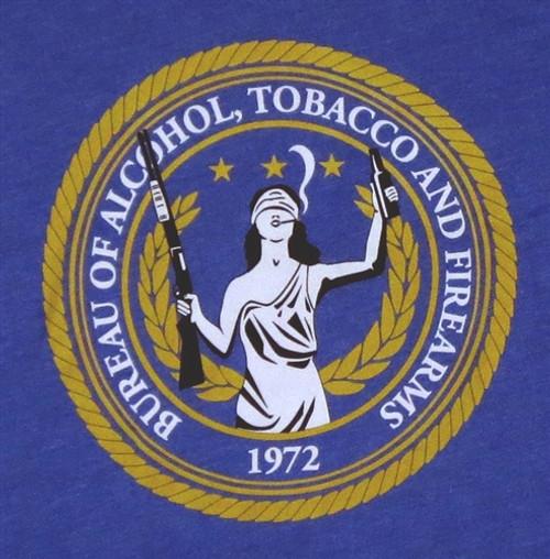 Image for Bureau of Alcohol, Tobacco, & Firearms T-Shirt