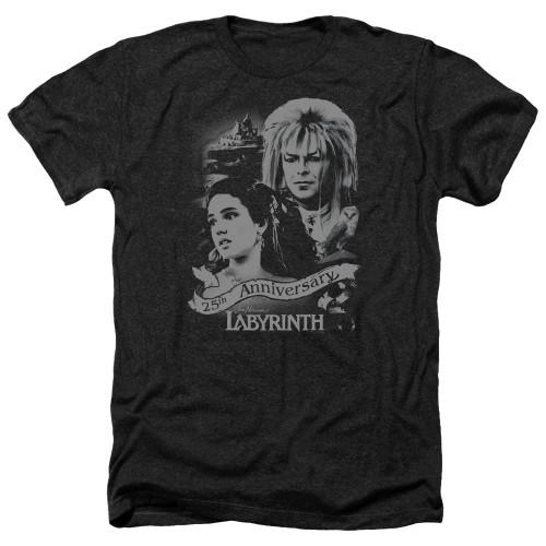 Image for Labyrinth Heather T-Shirt - Anniverary