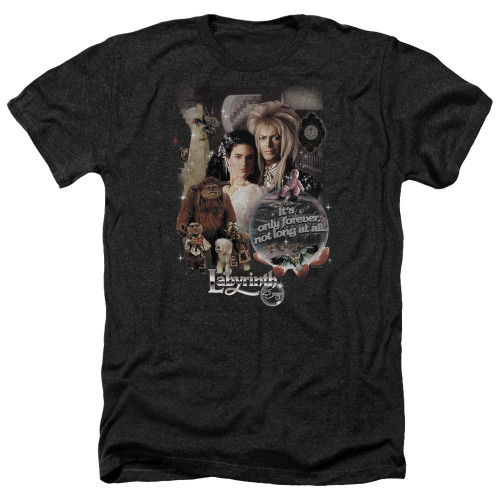 Image for Labyrinth Heather T-Shirt - 25 Years of Magic