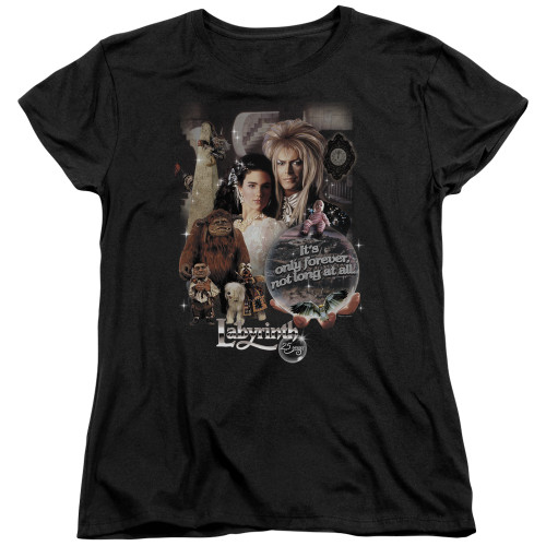 Image for Labyrinth Womans T-Shirt - 25 Years of Magic