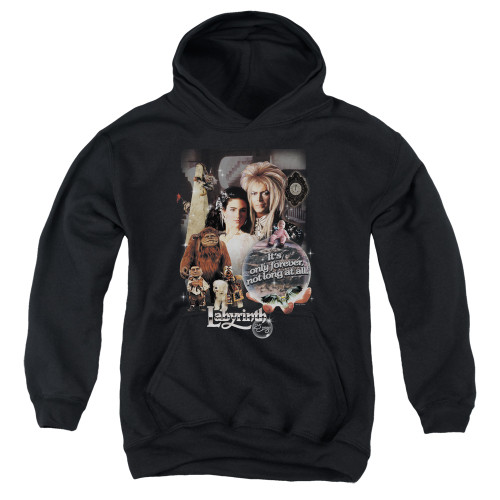 Image for Labyrinth Youth Hoodie - 25 Years of Magic