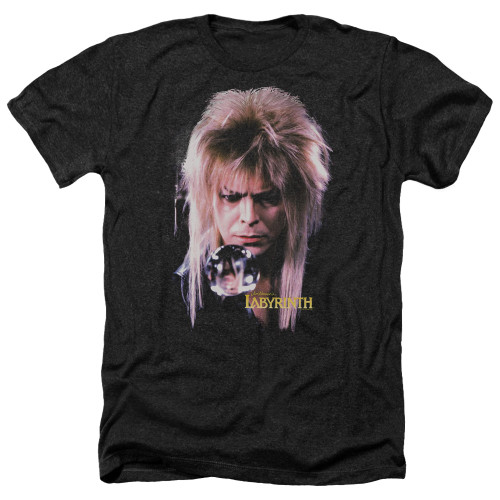 Image for Labyrinth Heather T-Shirt - Goblin King