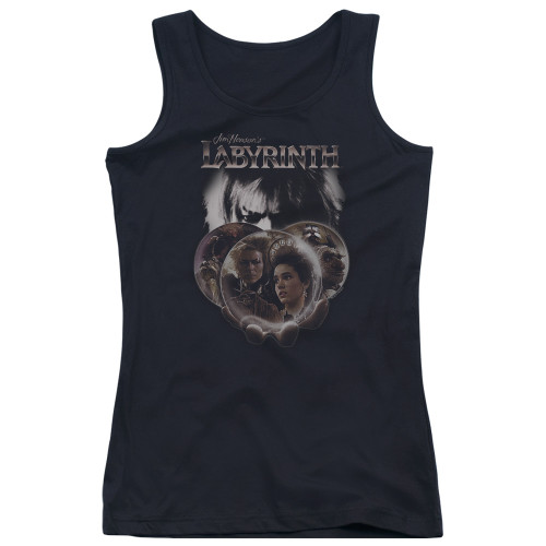 Image for Labyrinth Girls Tank Top - Globes