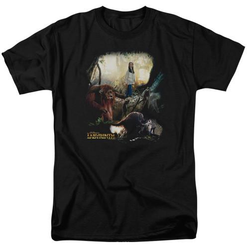 Image for Labyrinth T-Shirt - Sarah & Ludo