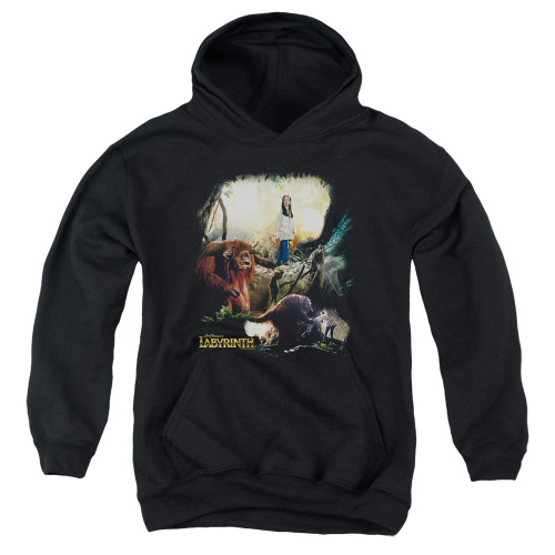 Image for Labyrinth Youth Hoodie - Sarah & Ludo