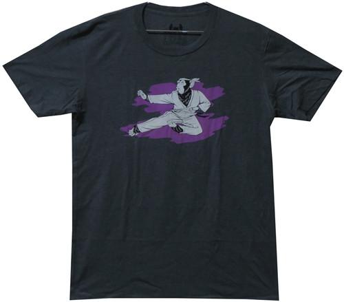Image Closeup for Karate Chimp T-Shirt