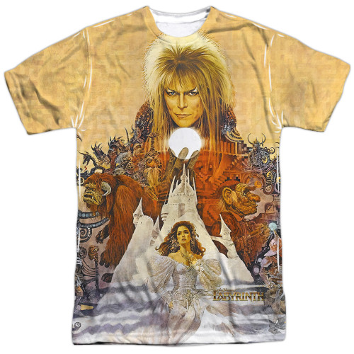 Image for Labyrinth T-Shirt - Cover Art