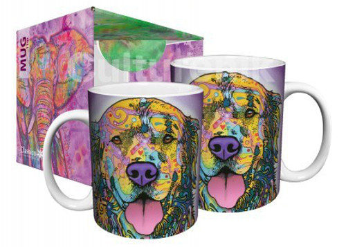 Image for Dean Russo Happy Dog Coffee Mug